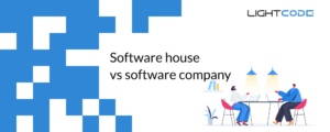 difference beetween software house software company